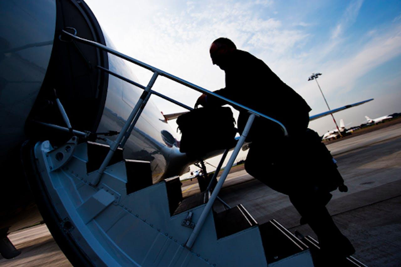 Minister Timmermans reisde vanaf Schiphol naar Kiev