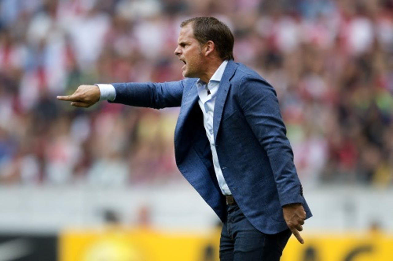 Ajax-coach Frank de Boer (ANP)
