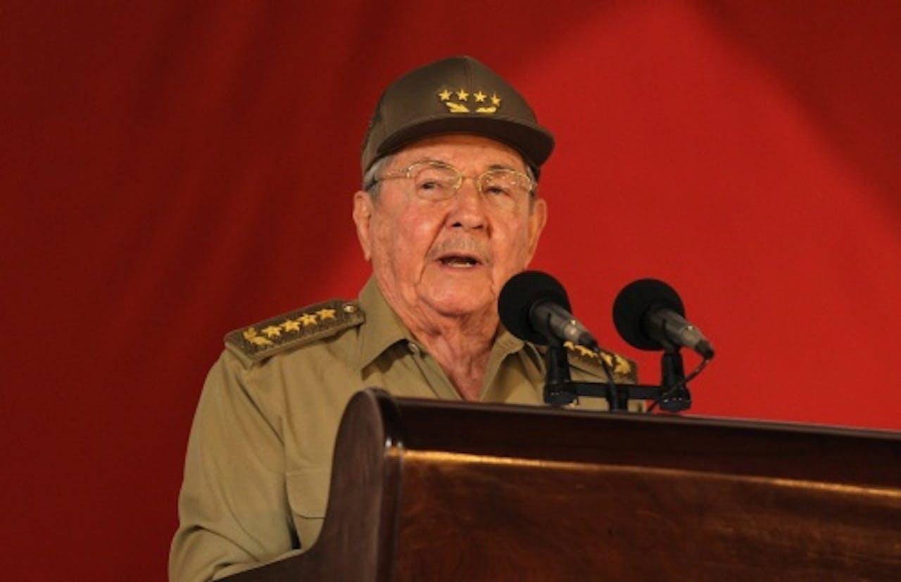 Raúl Castro. EPA