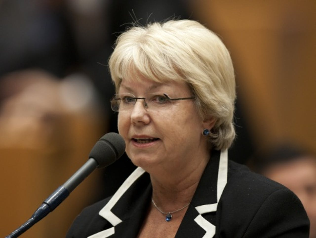 Magda Berndsen. ANP