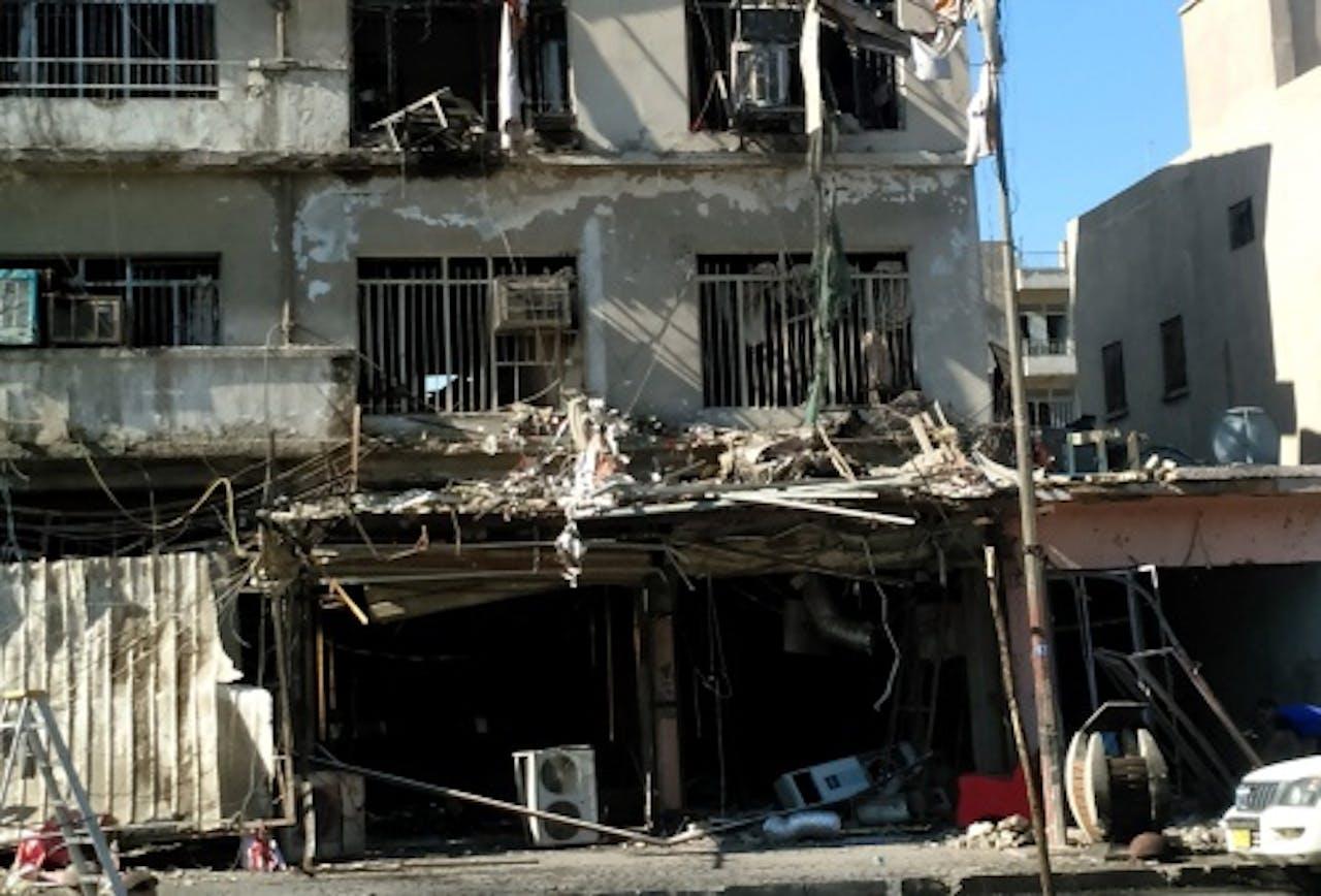 Archieffoto bomaanslagen in Bagdad. EPA