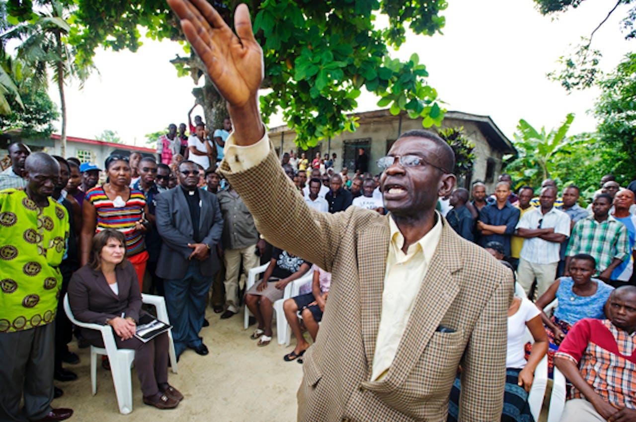 Minister Ploumen bezocht eerder deze maand ontwikkelingsland Nigeria