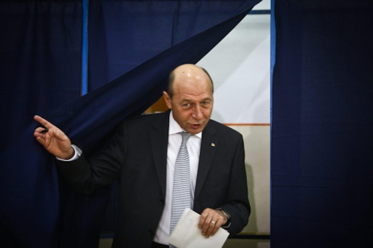 Traian Basescu. EPA