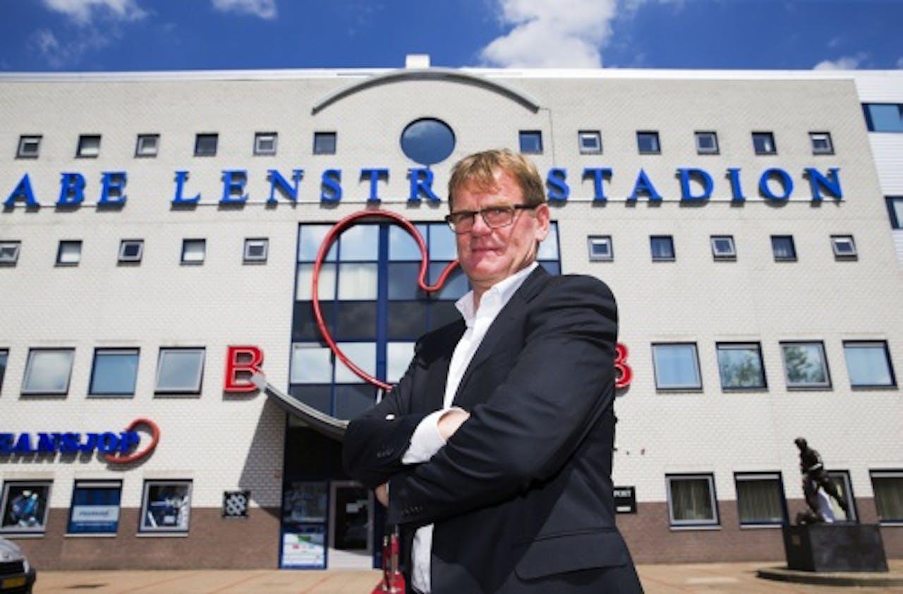 Dwight Lodeweges is sinds dit seizoen trainer van Heerenveen. ANP