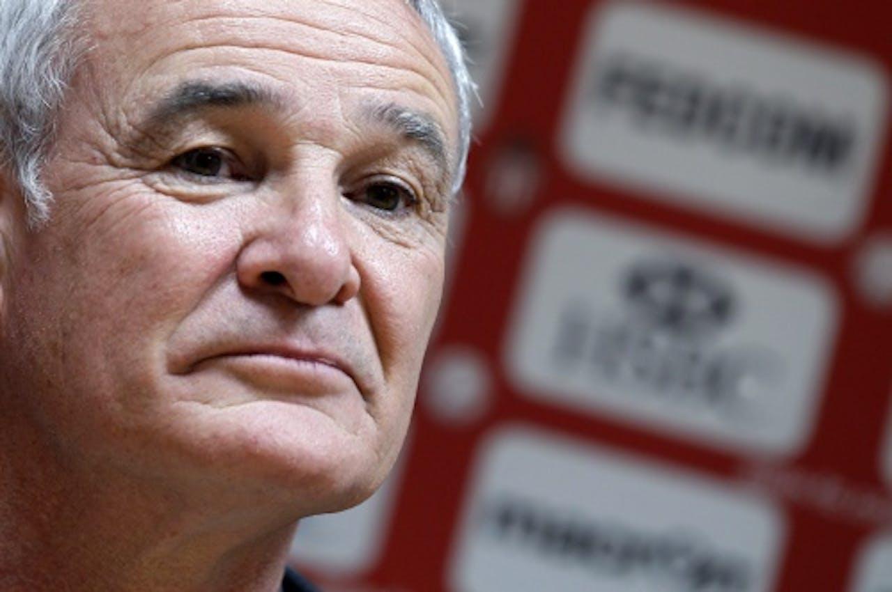 Trainer Claudio Ranieri van AS Monaco. EPA
