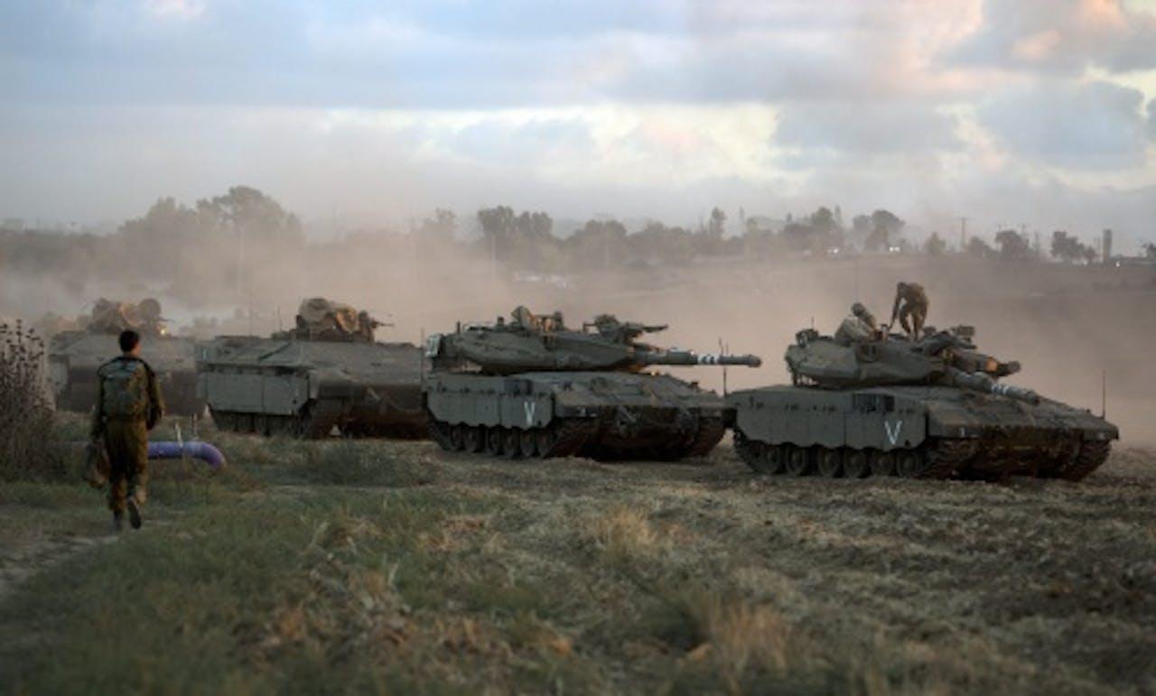Israëlisch leger. EPA