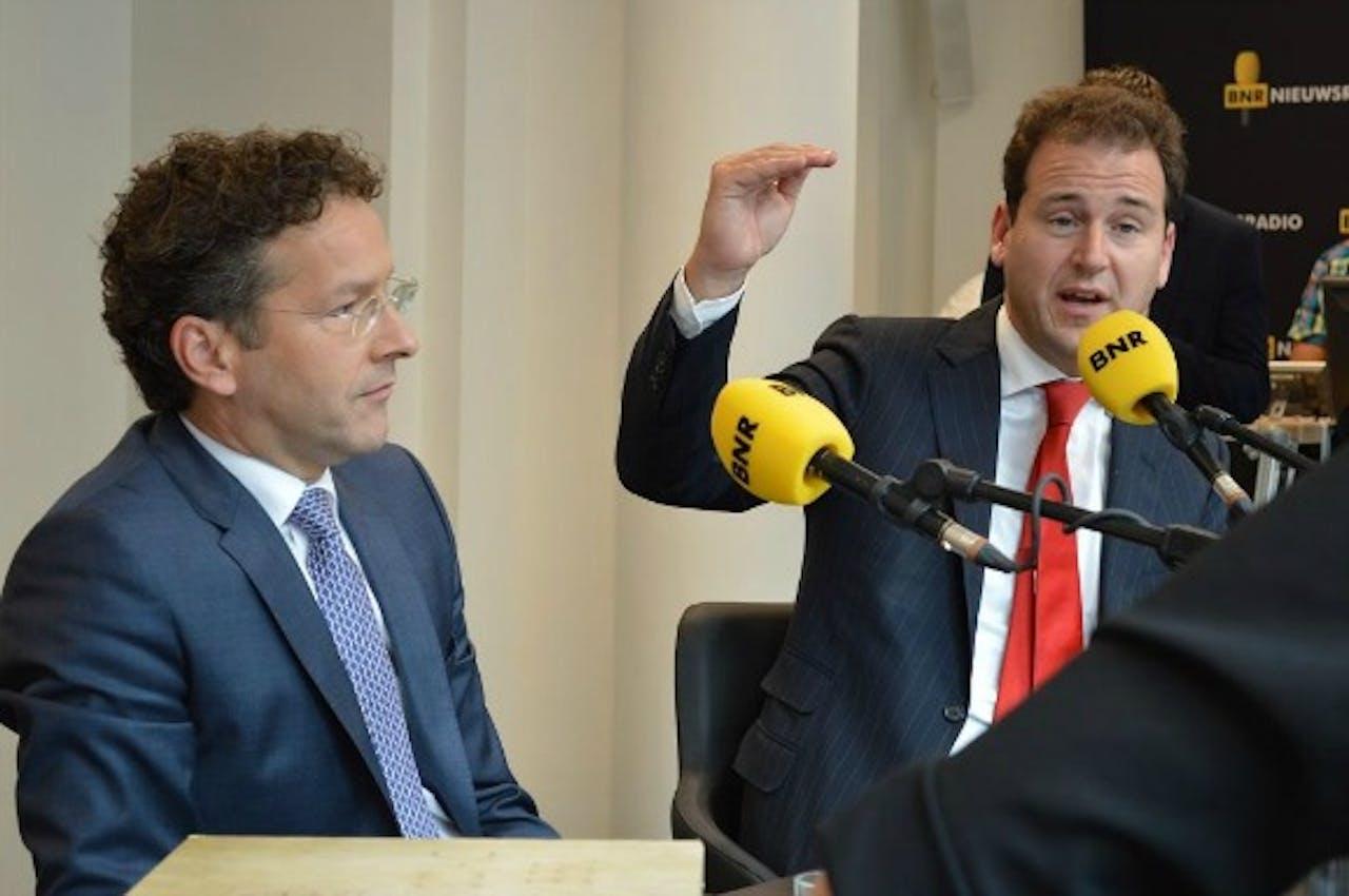 Ministers Dijsselbloem en Asscher
