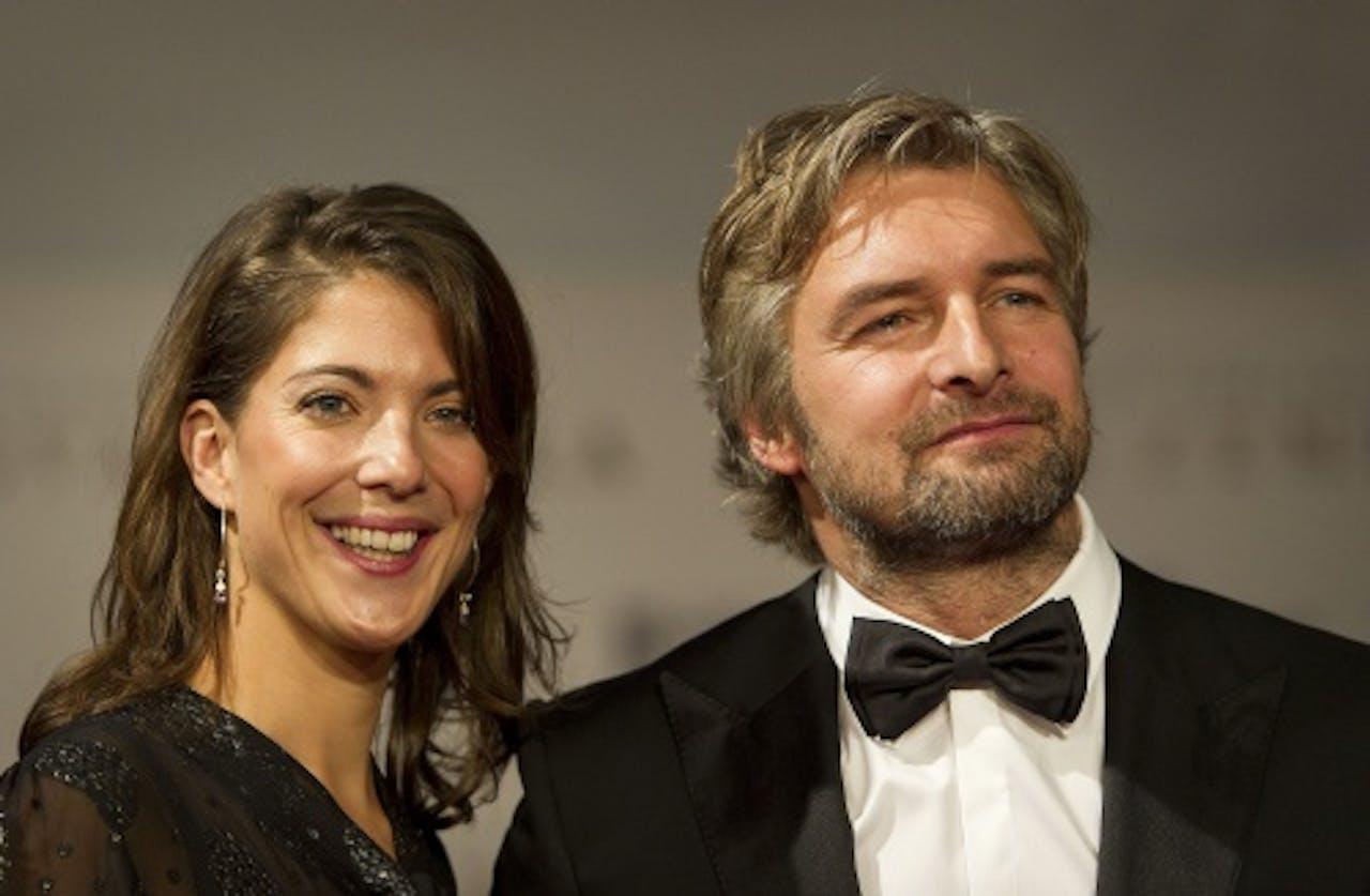 Victor Reinier met zijn vrouw. ANP Kippa