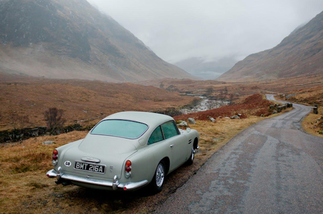 Aston Martin DB5 van James Bond