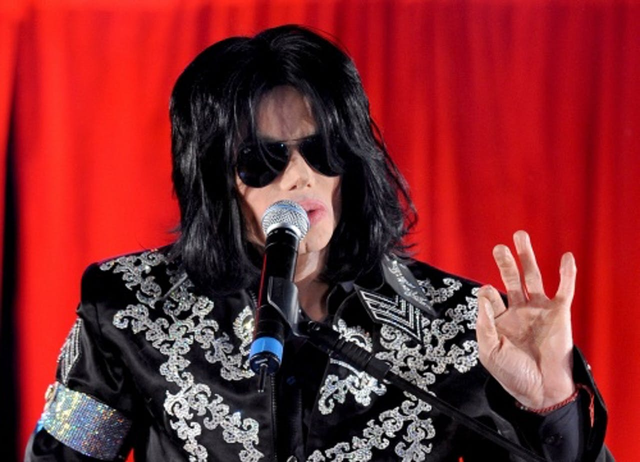 Archiefbeeld Michael Jackson. EPA