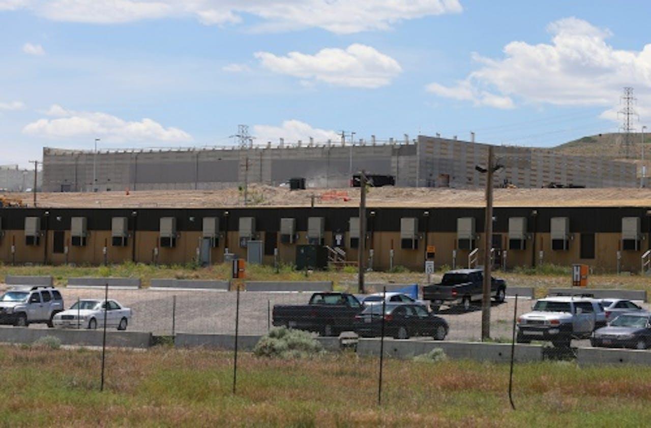 Een centrum van de Amerikaanse geheime dienst NSA. EPA