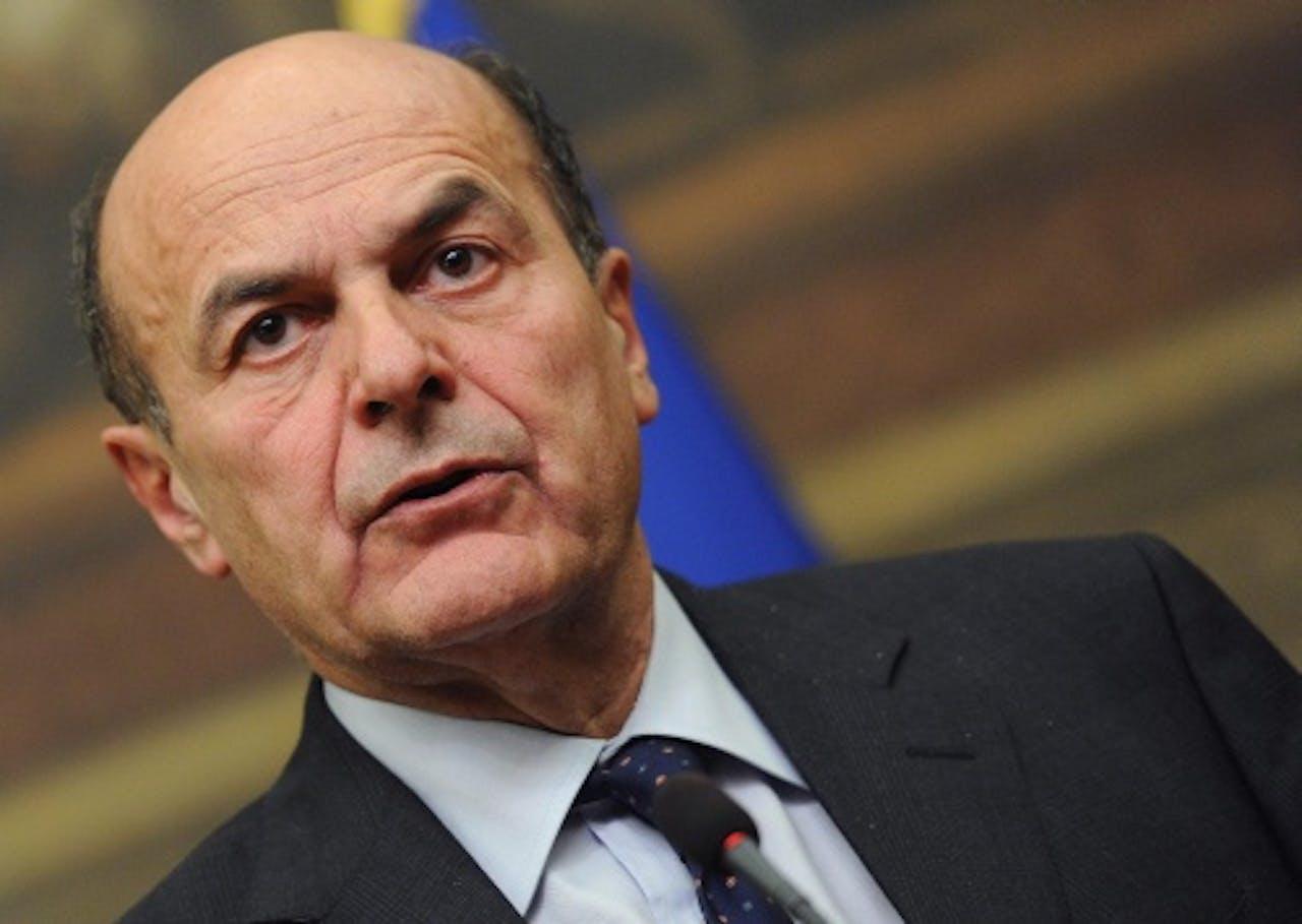 Pier Luigi Bersani. EPA