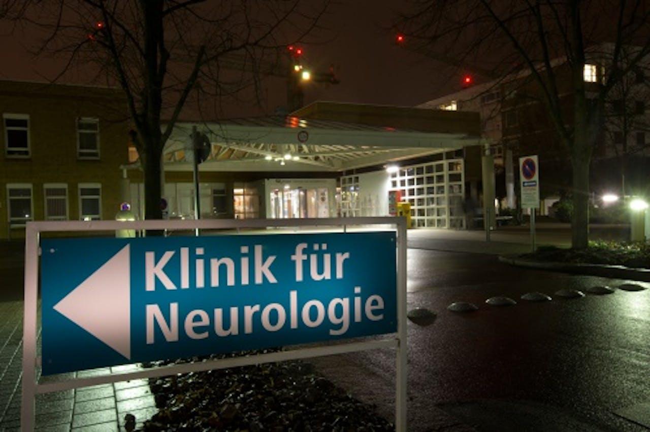 Het Duitse ziekenhuis waar Ernst Jansen Steur aan het werk was.