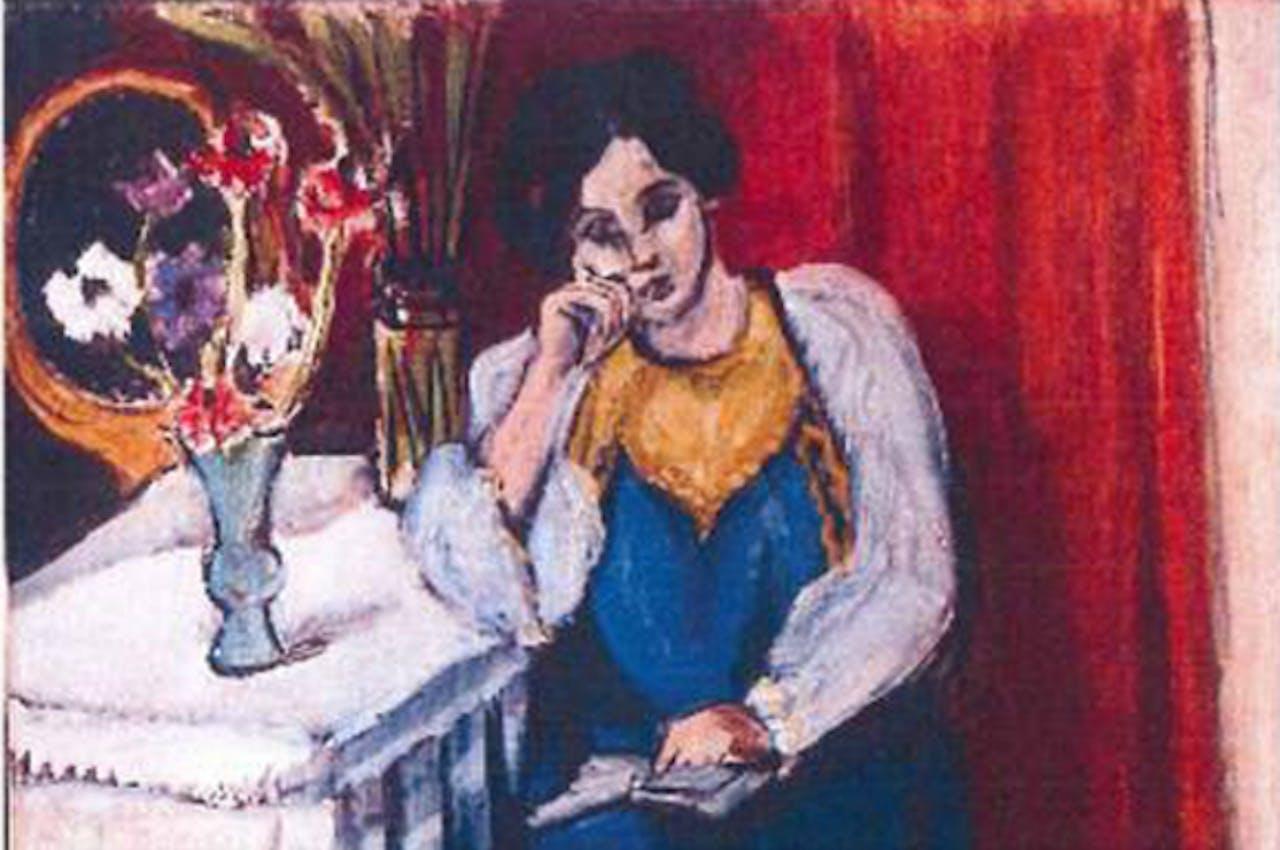 Dit schilderij van Henri Matisse is een van de zeven gestolen werken.