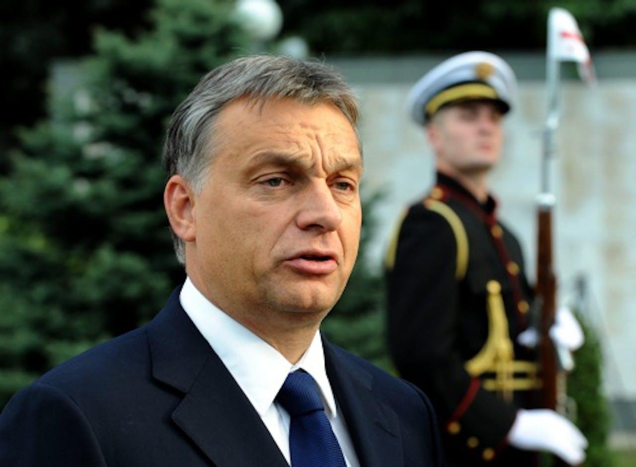 Victor Orban. EPA