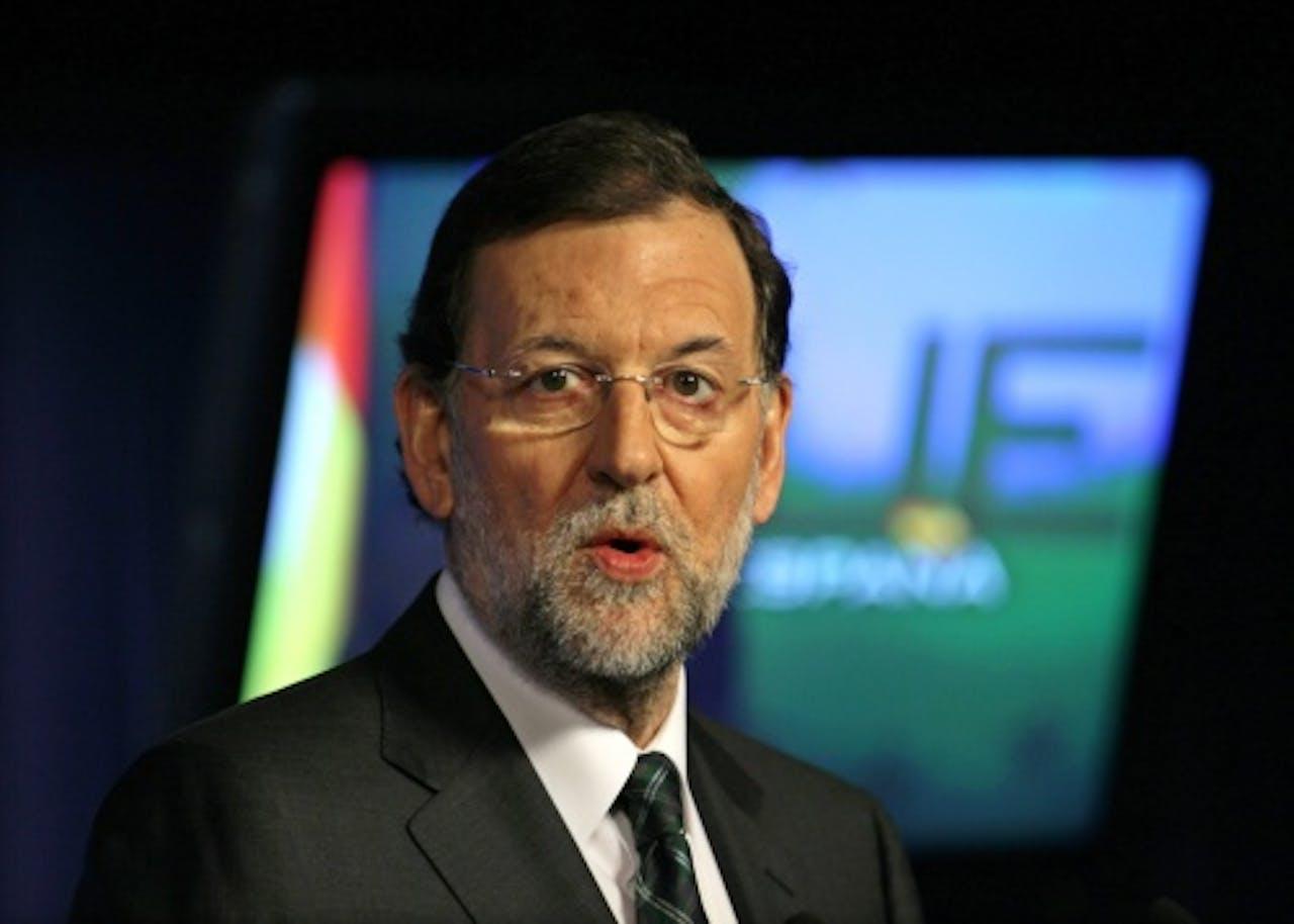 De Spaanse premier Mariano Rajoy