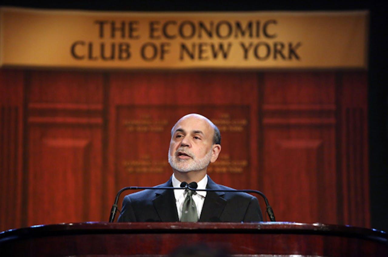 Bernanke: voortijdig afbouwen steun risicovol