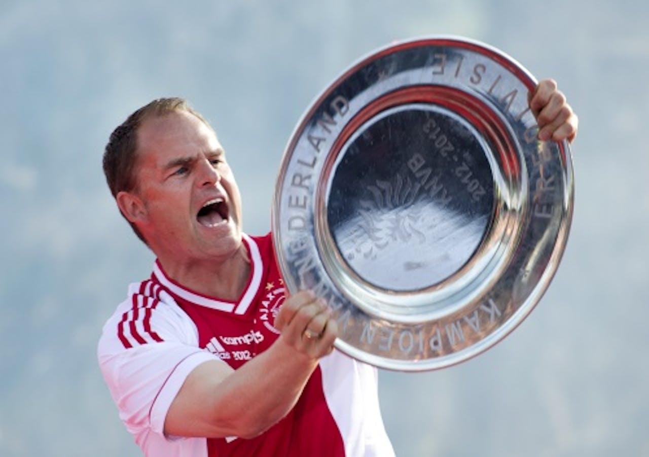 Trainer Frank de Boer. ANP