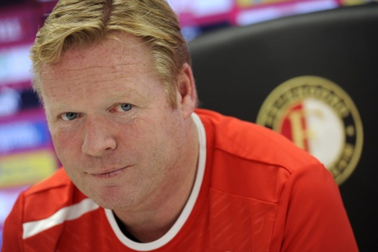 Archiefbeeld van Feyenoord-trainer Ronald Koeman. ANP