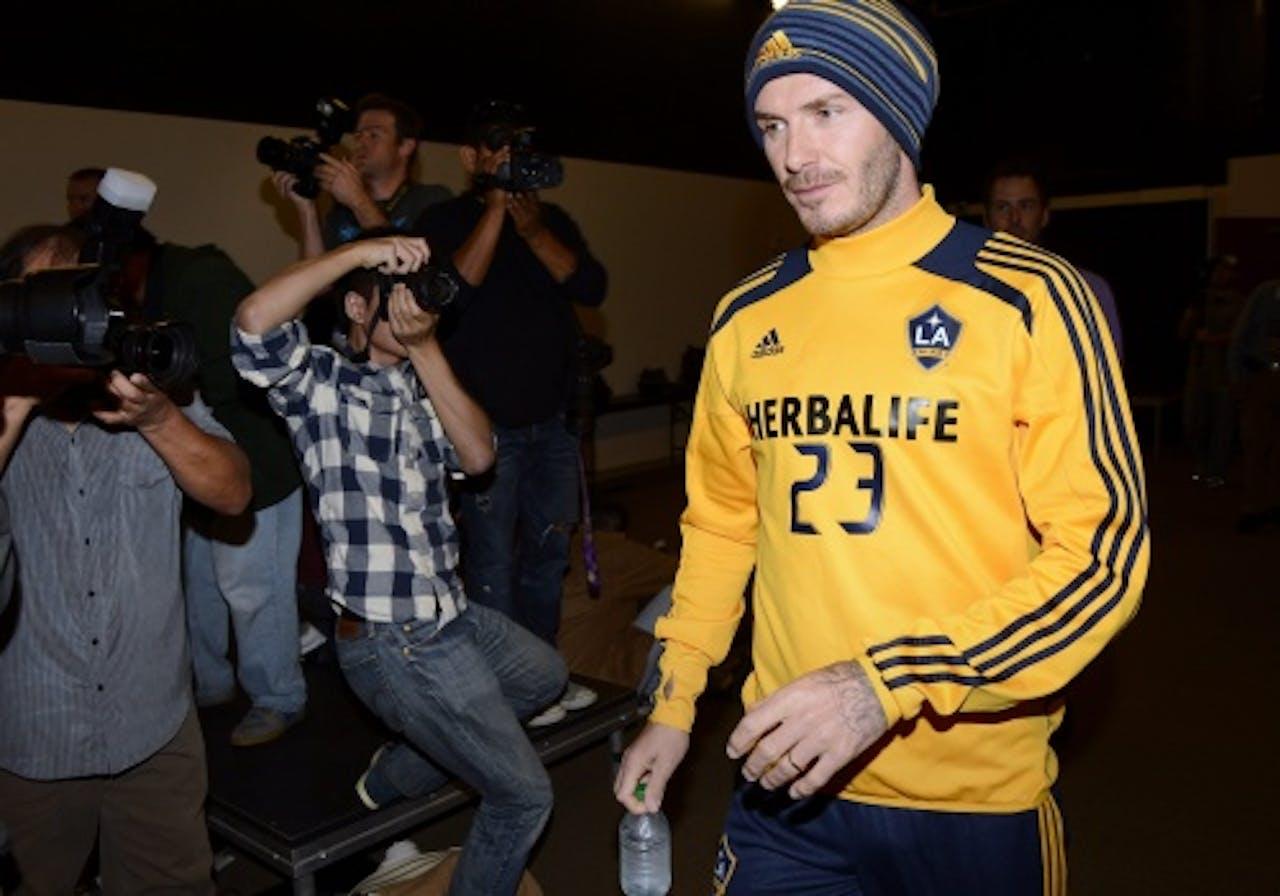 Archiefbeeld van David Beckham. EPA