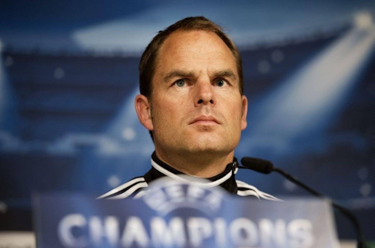 Ajax-coach Frank de Boer. ANP