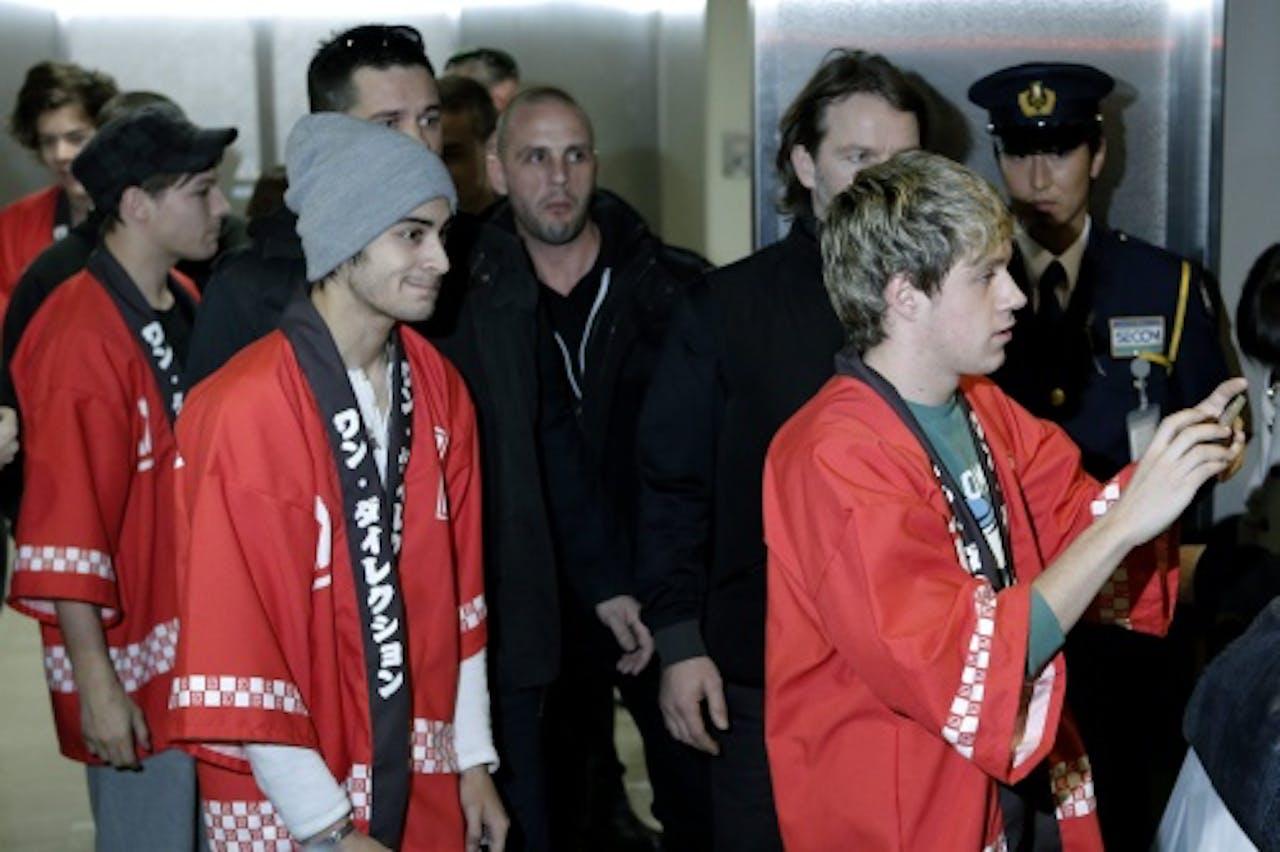 Niall Horan (rechts). EPA