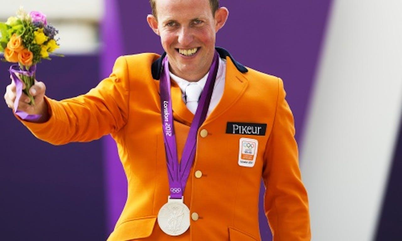 Gerco Schröder tijdens de Spelen in Londen, afgelopen zomer. ANP