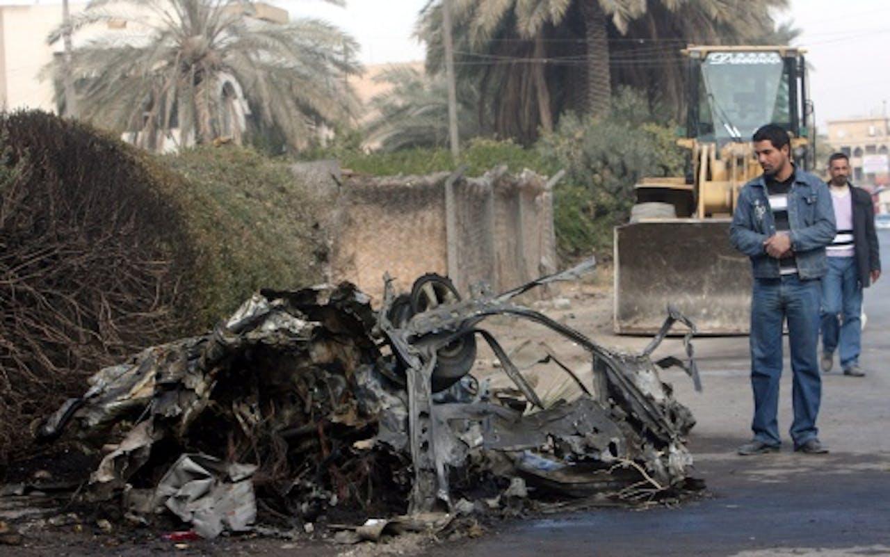 Een aanslag in Bagdad, archieffoto EPA