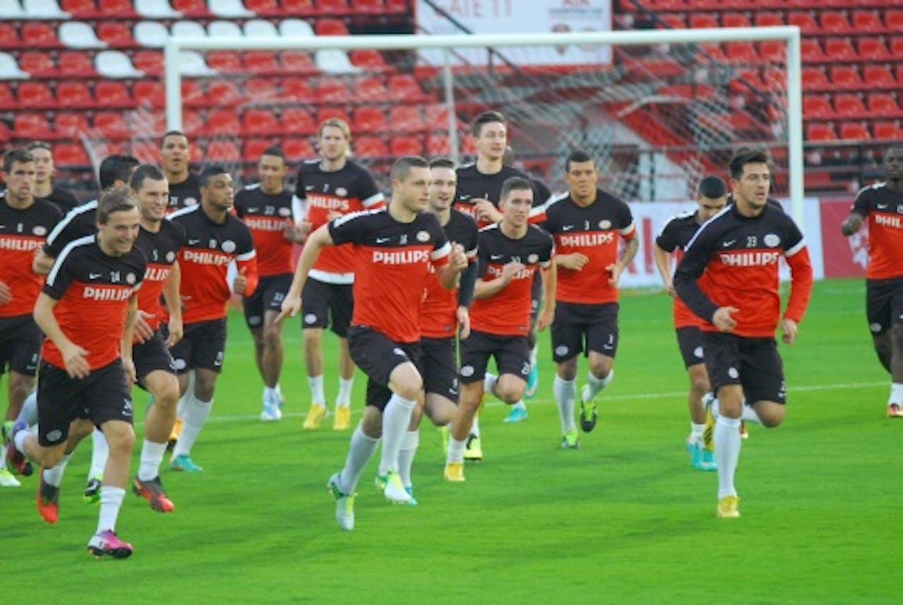 Archiefbeeld van een PSV-training. ANP
