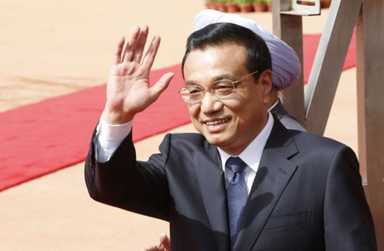 Chinese premier Li Keqiang, EPA