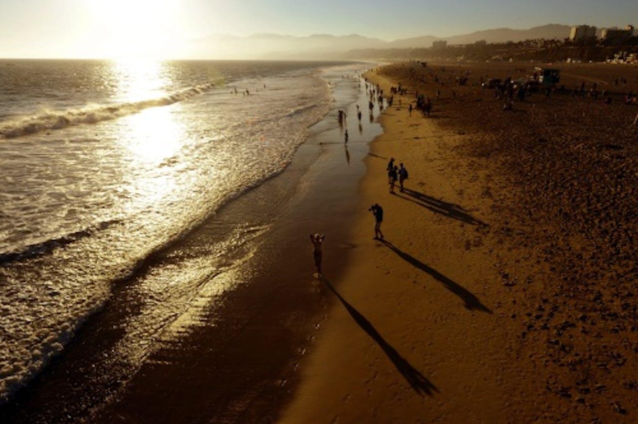 Santa Monica Beach. EPA