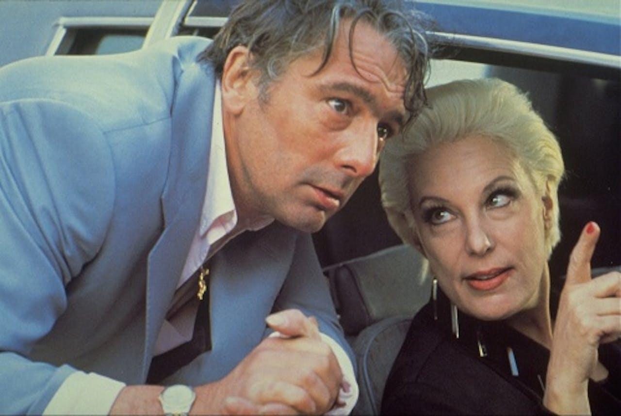 Jean Pierre Bisson en Bernadette Lafont in Plein Fer (1989), ANP Kippa
