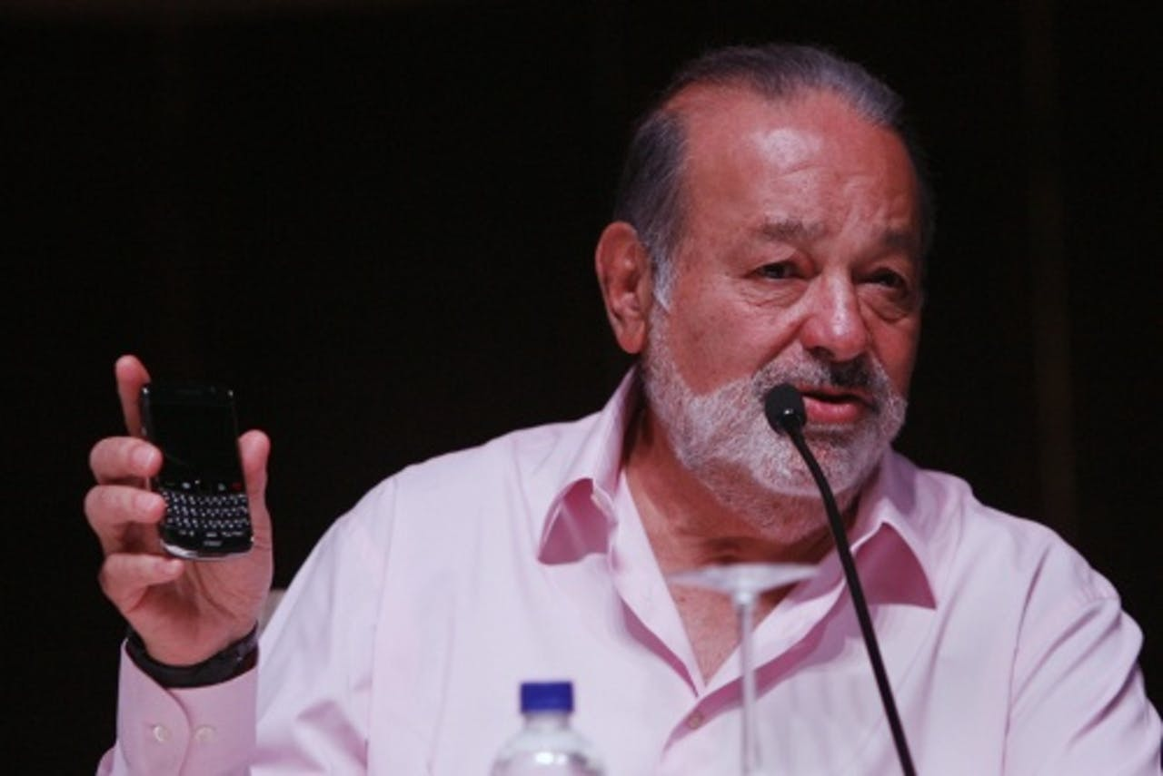 Carlos Slim. EPA