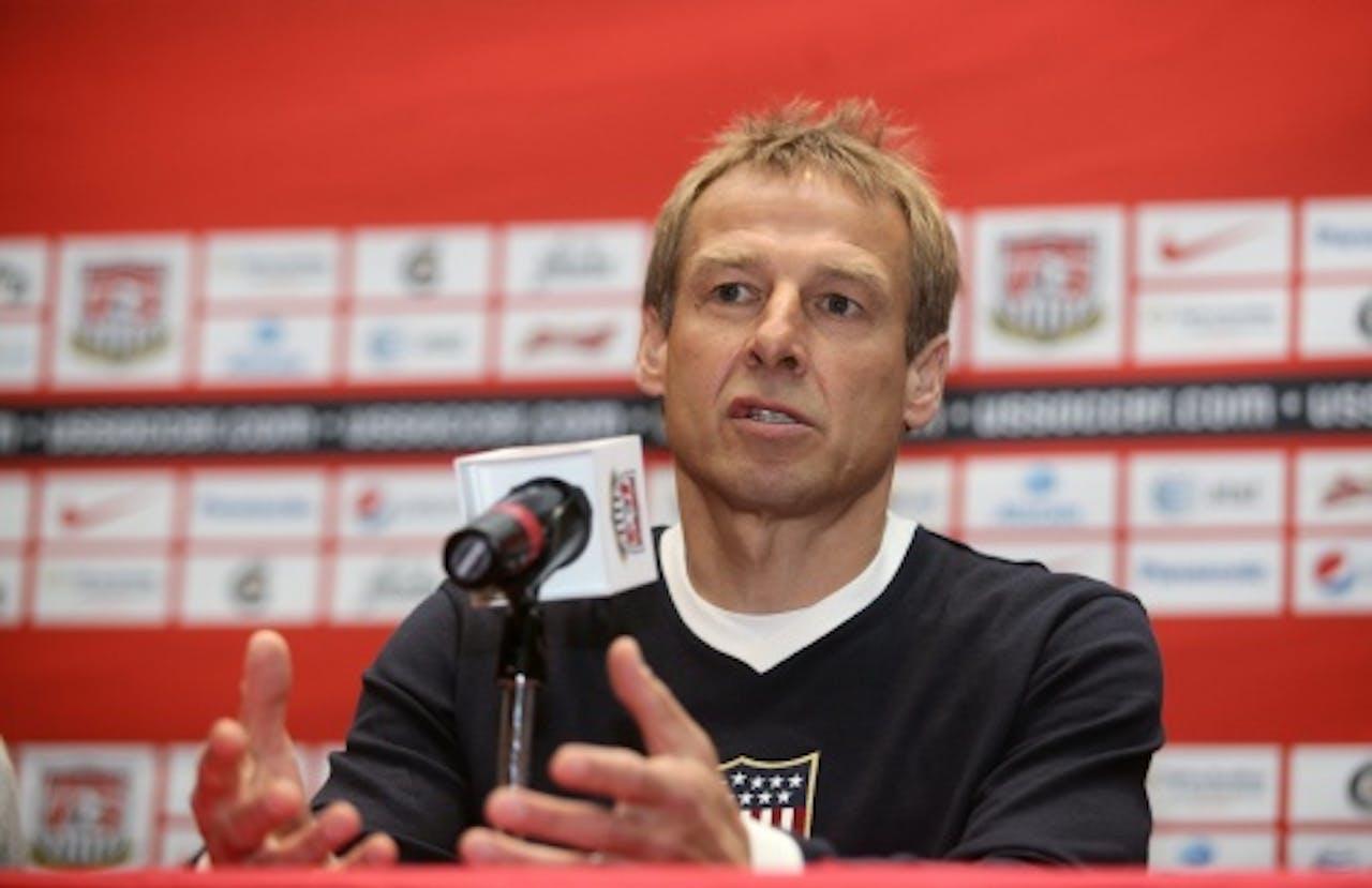 Jurgen Klinsmann. EPA