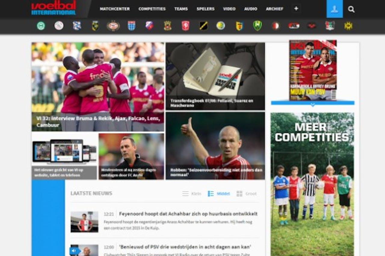 Voetbal International wil online ervaring lezers verbeteren met nieuw cms