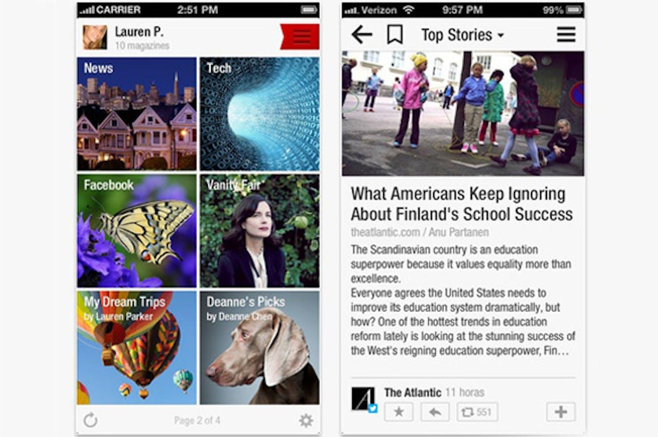 App: Flipboard 2.0.