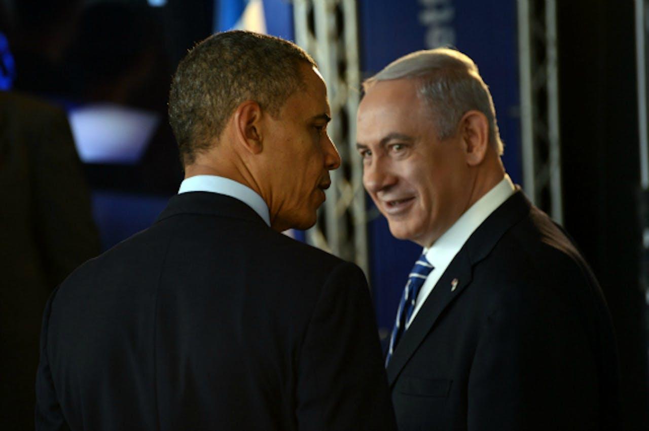 Obama met Netanyahu