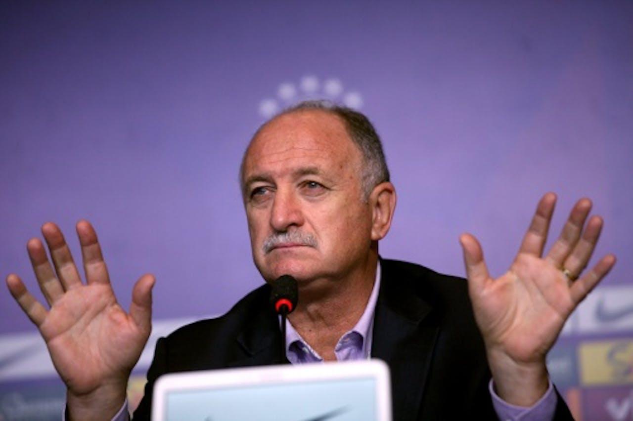 Luiz Felipe Scolari. EPA