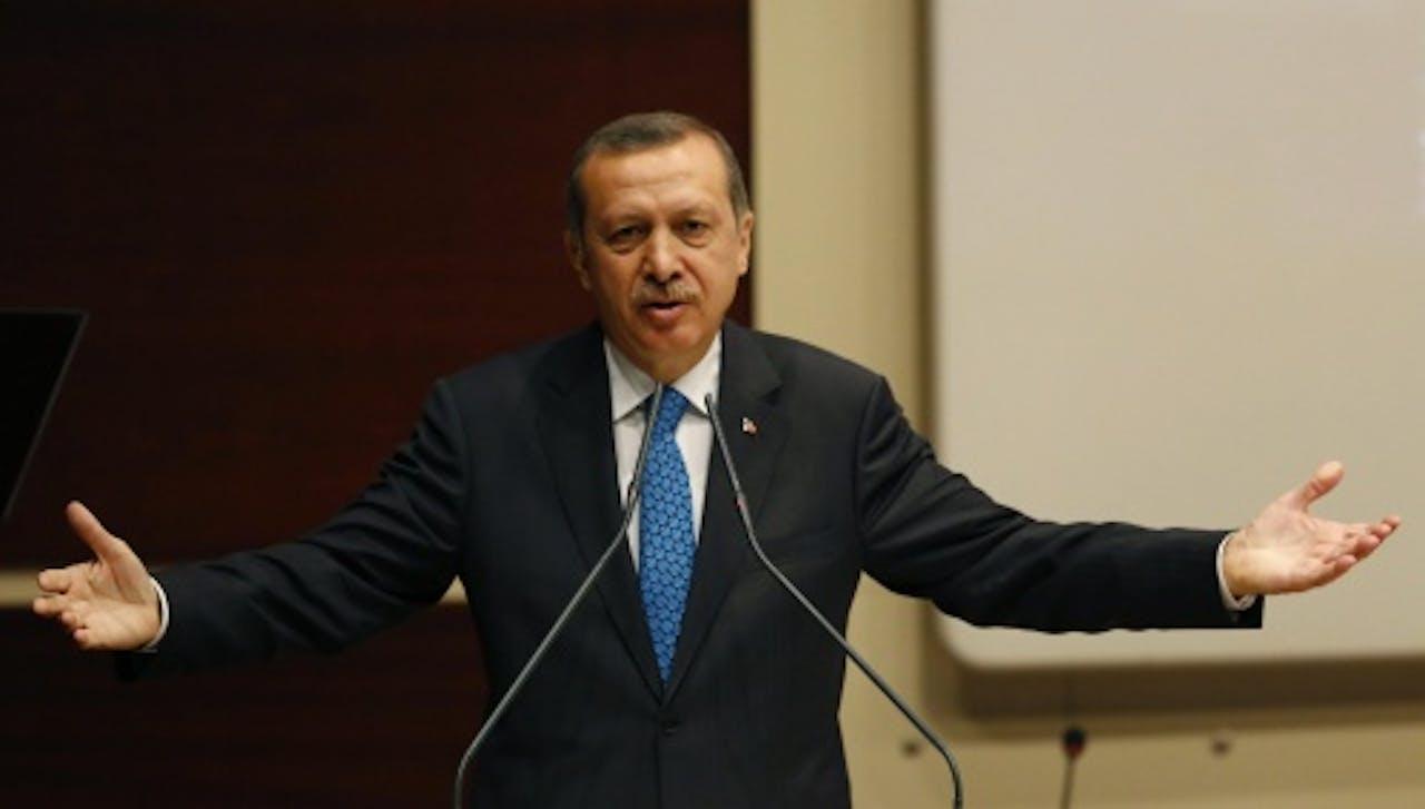 Recep Tayyip Erdoga. EPA
