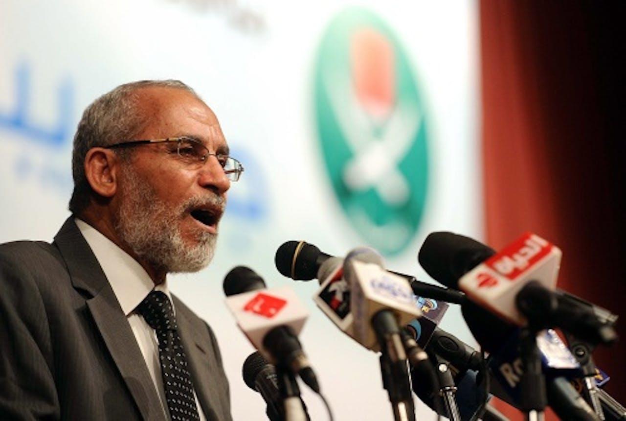 Mohamed Badie op archief, EPA