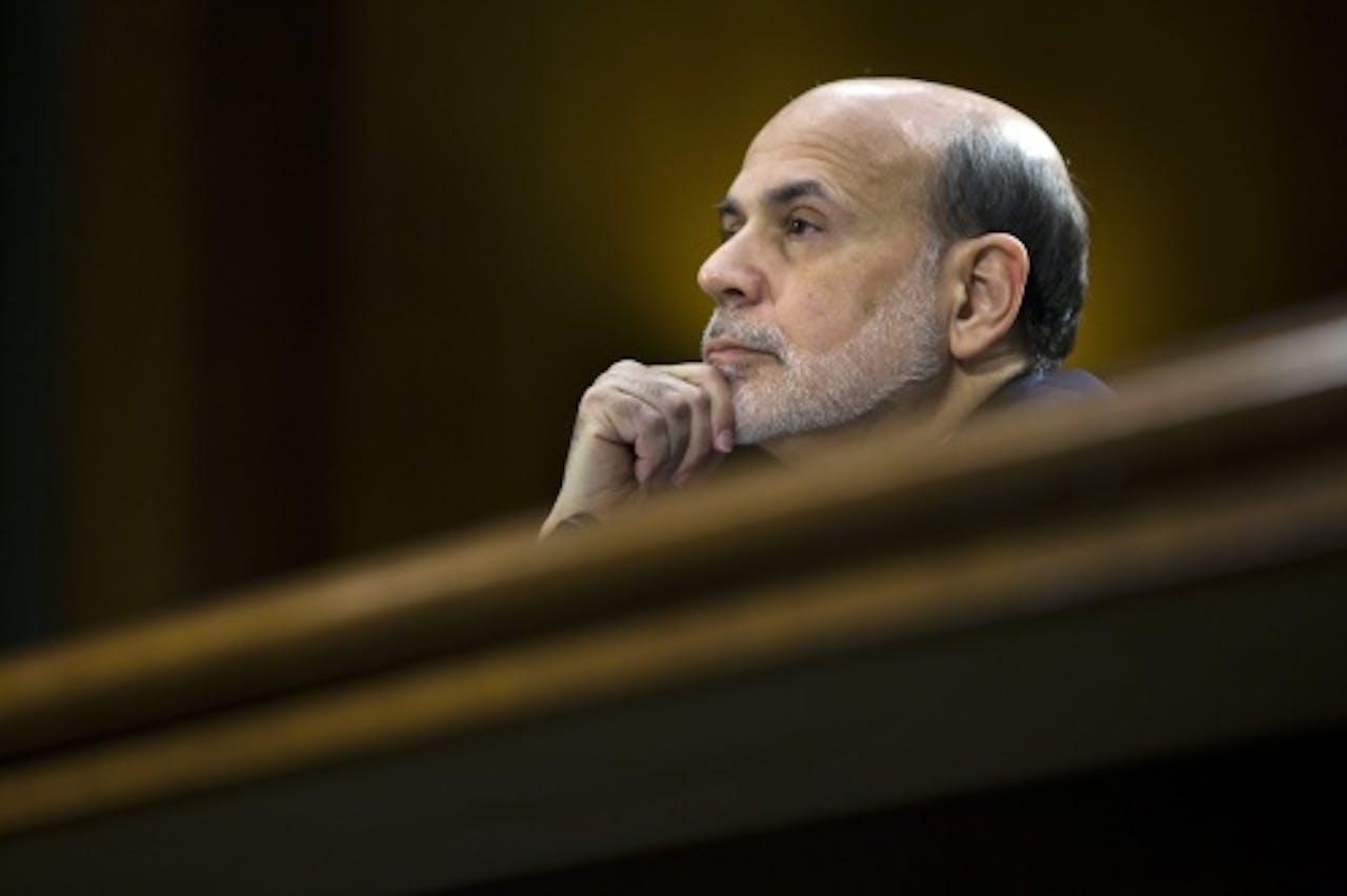 Fed-voorzitter Ben Bernanke, EPA