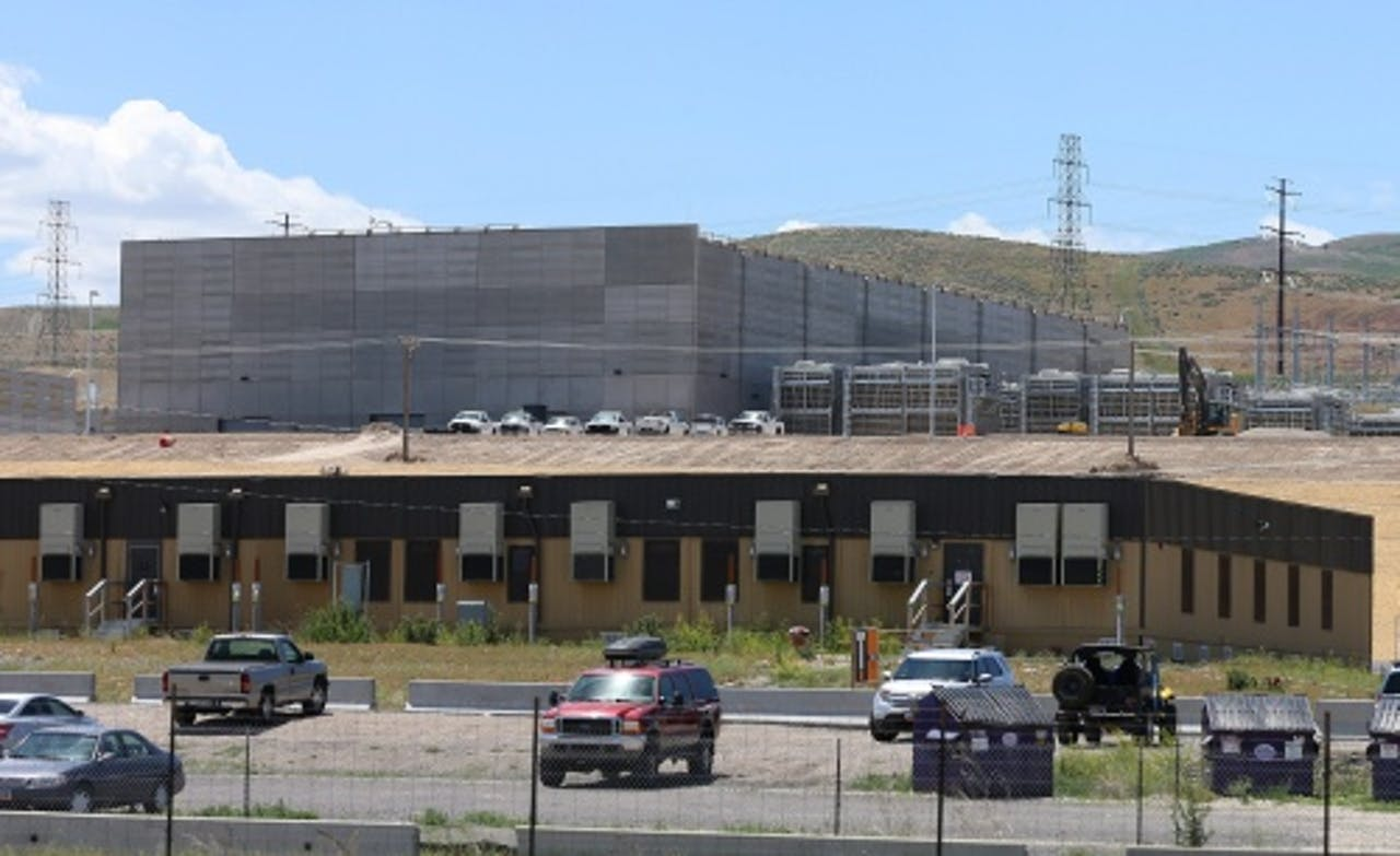 Een datacentrum van de NSA. EPA