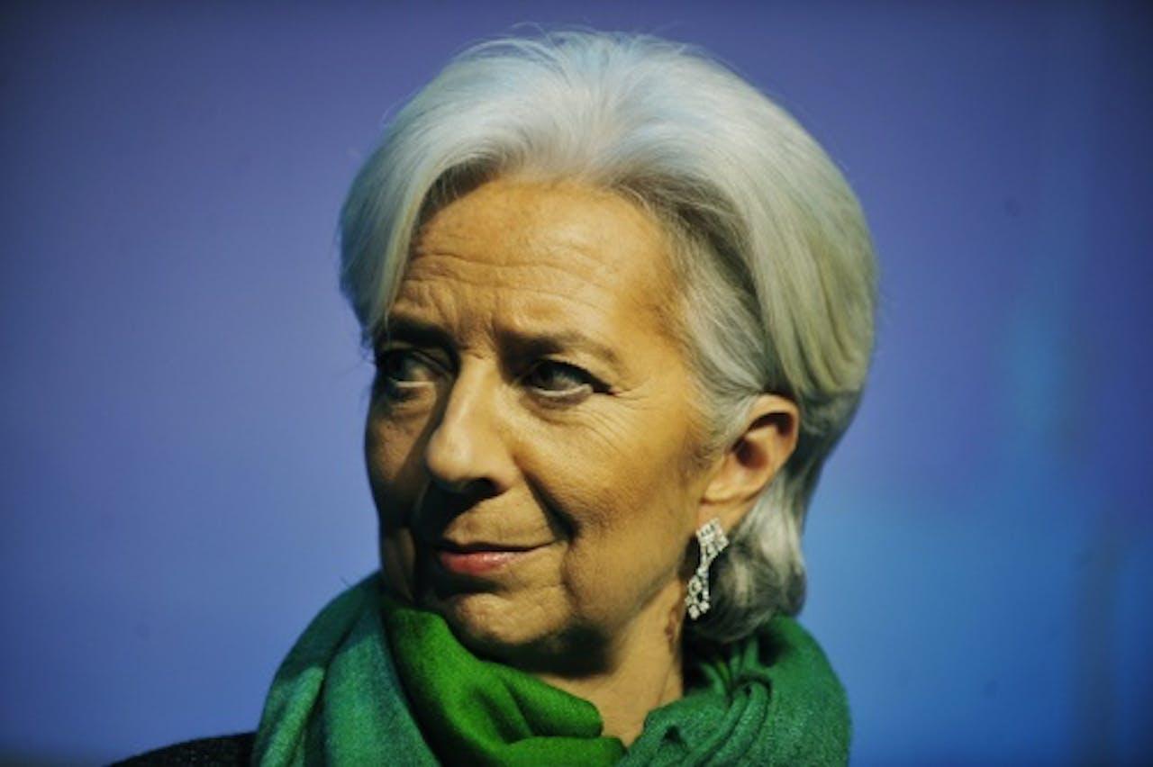 Archiefbeeld hoofd IMF Christine Lagarde.EPA