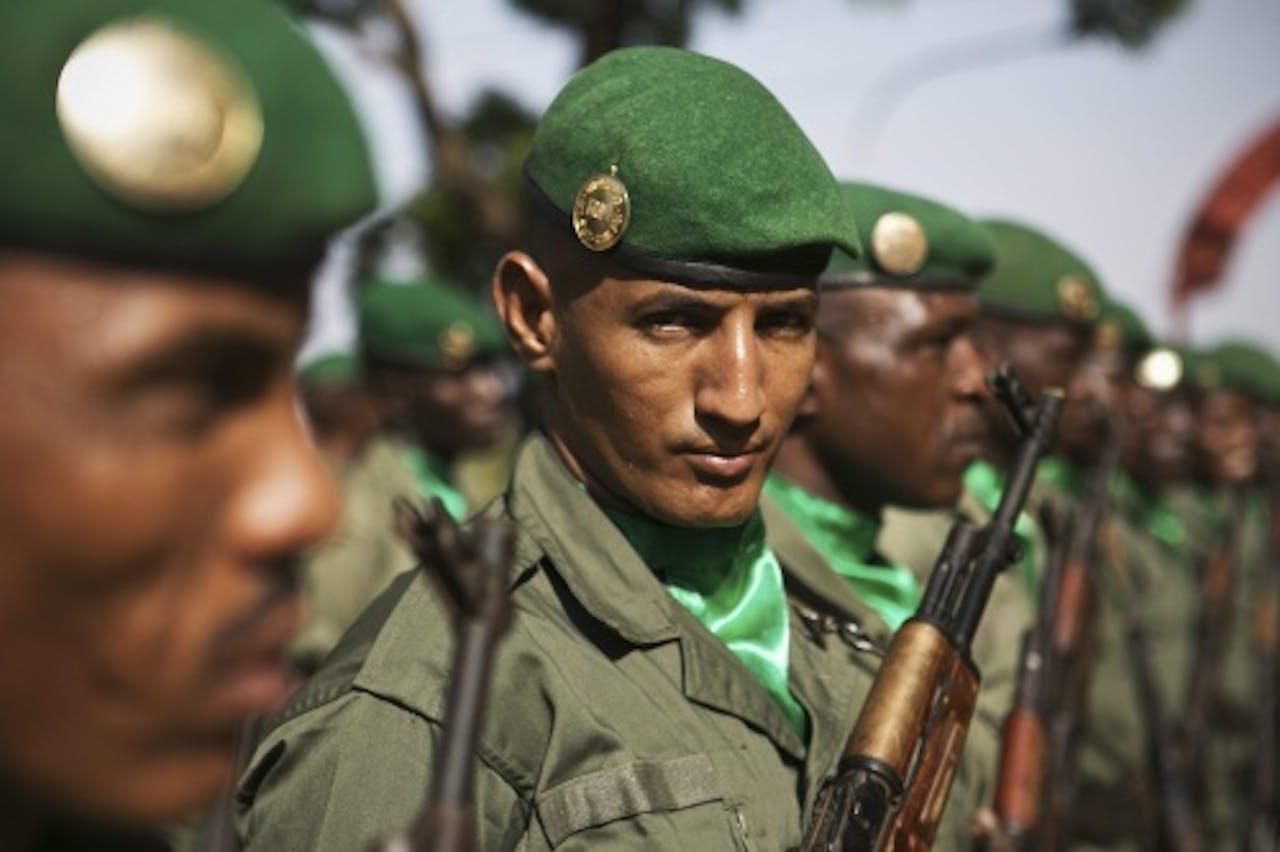 Malinese soldaten (EPA)