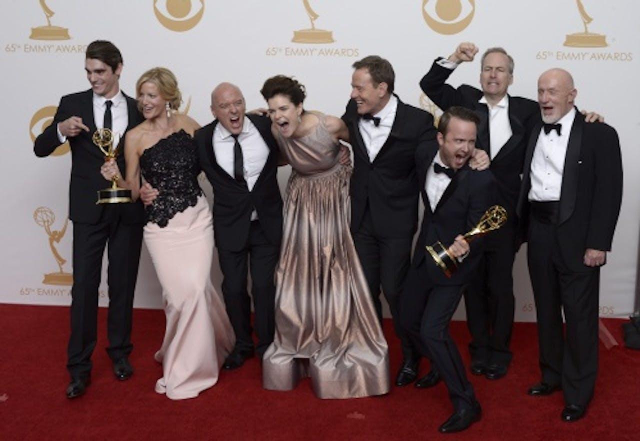 De cast van Breaking Bad. EPA