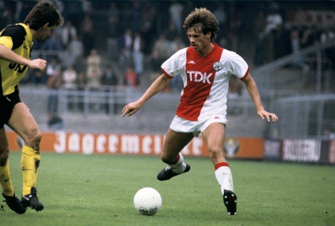 Rob de Wit in actie in 1985, ANP