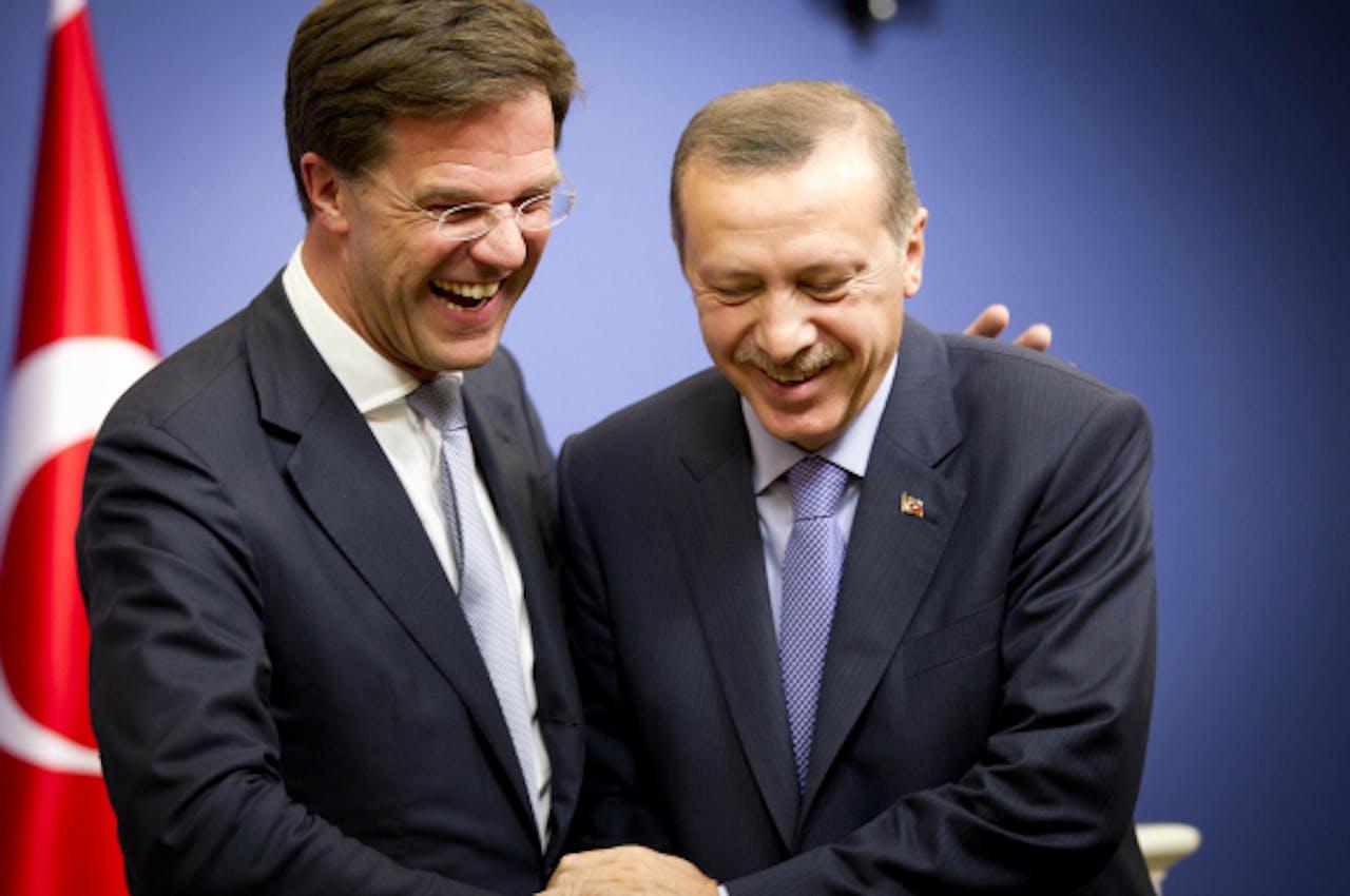 November 2012: Premier Rutte bezoekt premier Erdogan in Turkije