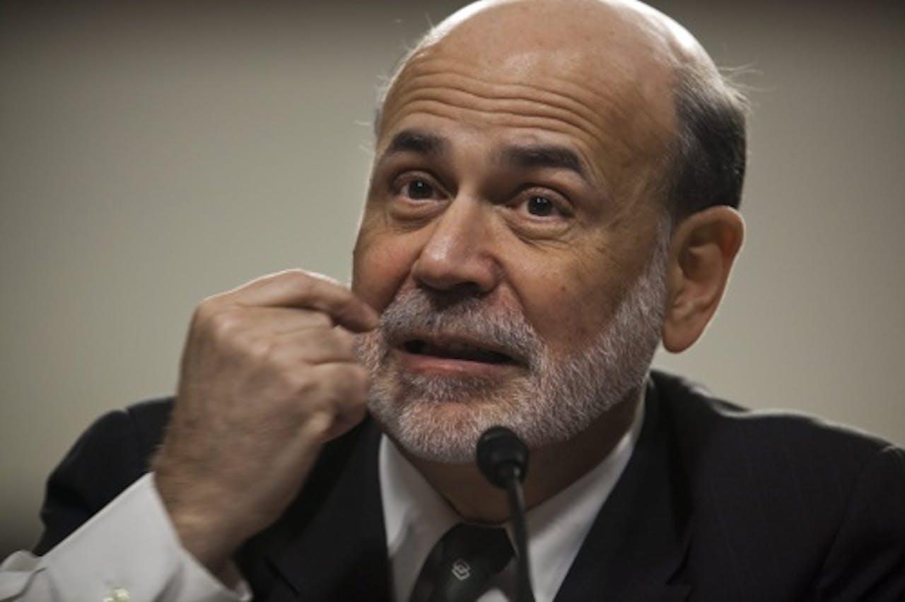 Ben Bernanke van de Fed. EPA