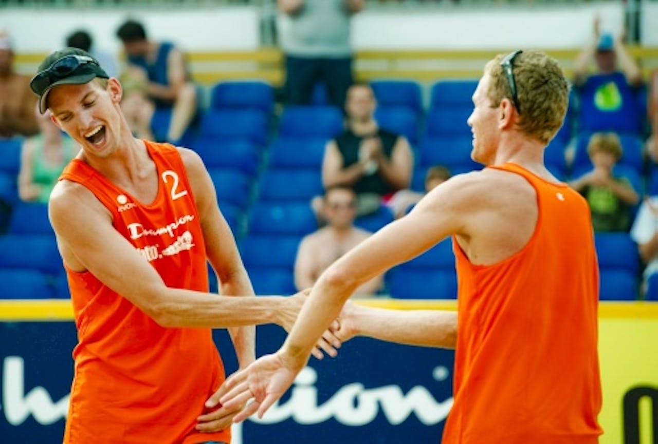 Robert Meeuwsen (L) en Alexander Brouwer. ANP