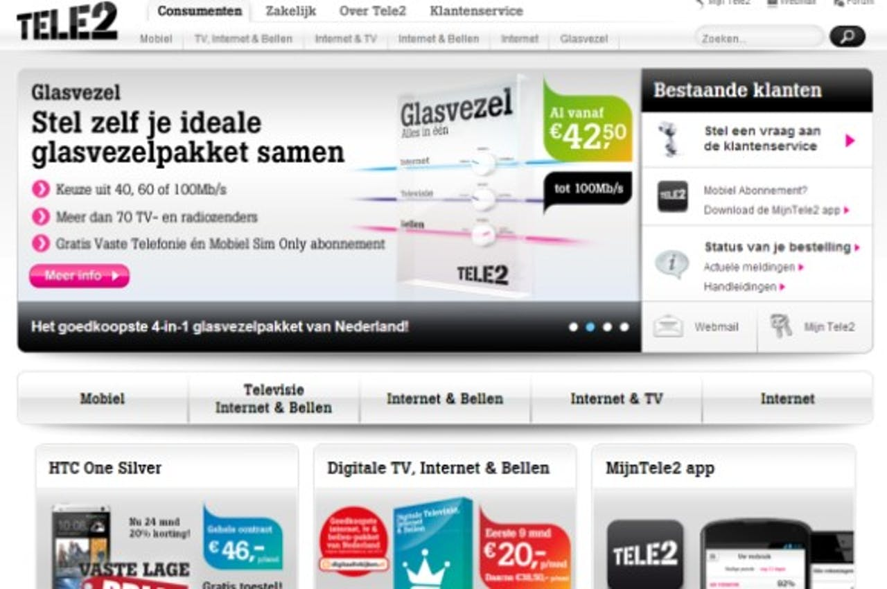 Tele2 wil relevantie Europese websites verbeteren